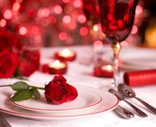 Romantikus vacsorák