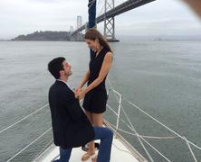 Lánykérés a hajón