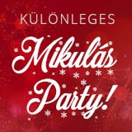 Gyere el egy különleges Mikulás partyra!