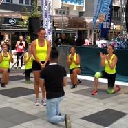Flashmob és lánykérés
