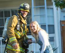 Tűzoltós lánykérés