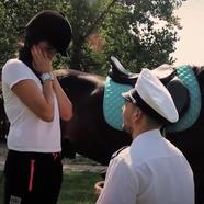 Lánykérés a Galopp Major lovardában