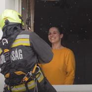 Tűzoltó lánykérés