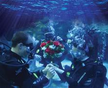 Lánykérés a víz alatt